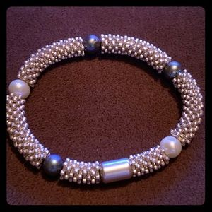 Links of London Effervescence pearl bclt SS925